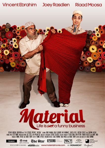 Material movie poster